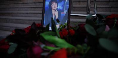 Во Владивостоке простились с телеведущей Еленой Богдановой